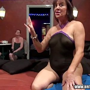 Tyla - British amateur bellowing gangbang swingers party