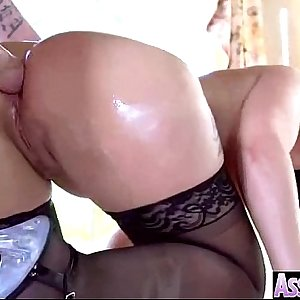 (syren de mer) Chick With Curvy Big Butt Get Her Arse Nailed video-29
