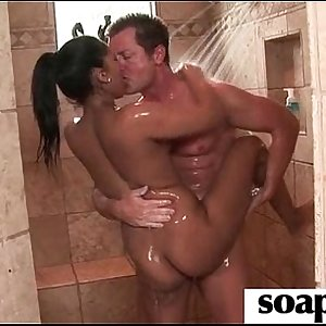 Sisters Friend Gives Him a Soapy Rubdown 17
