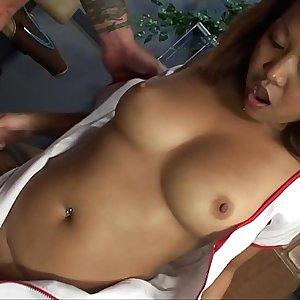 Petite Asian Nurse Fucks Her Patient