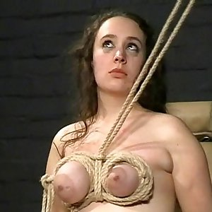 Breast Torments and Extreme Bondage of English BBW Slavegirl