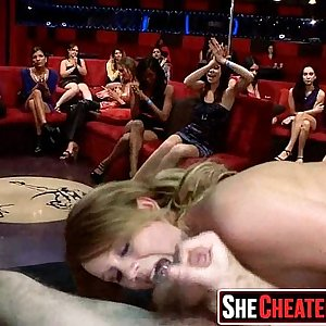 08 29 Hot cougars suck youthful stripper cock!25