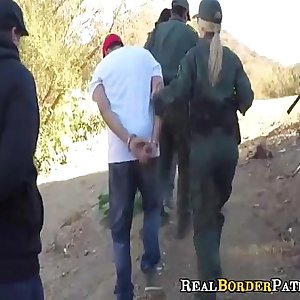 Border Patrol Blackmails Illegal Mexican Student