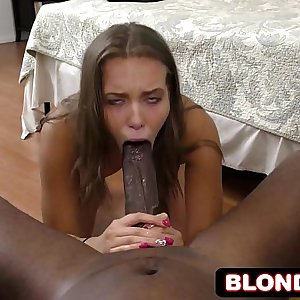 Lucky Black Dude Picks Up Cute Liza Rowe and Films Entire Experience POV