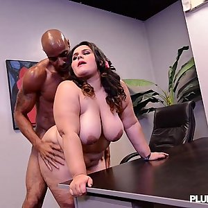 Big Booty Latina BBW Karla Lane Loves Big Black Cock