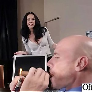 Sex Tape In Office With Big Juggs Horny Chick clip-04