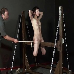 Wooden Pony Torment Of Asian Slaveslut Mei Mara