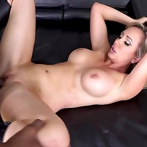 Brett Rossi takes a Big Black Cock