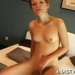 Alluring maiden Sanita bonked to orgasmic point