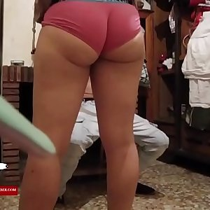 Music, dancing and hot fucked with the young woman ADR0450