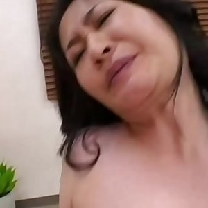 Asian milfs in trio riding dick and cant get enough