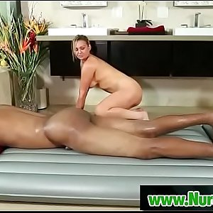 Busty asian masseuse gives pleasure to her client 19