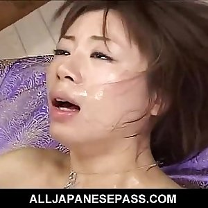Pretty babe finds her hairy pussy jammed with meat after a dinner date