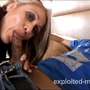 Mature Latina Mom banging younger black cock in Interracial Inexperienced Video