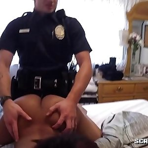 White Cops Fuck Black Teen
