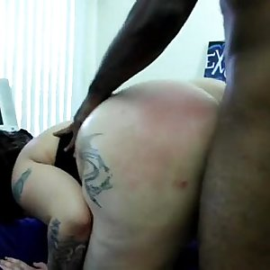 Cheating Pawg interracial