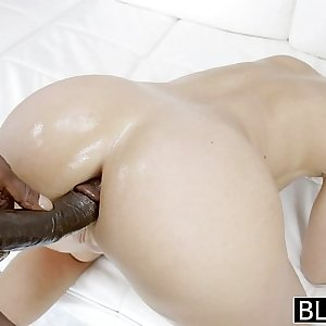 BLACKED Candice Dare Ass Fucked by Huge Black Cock