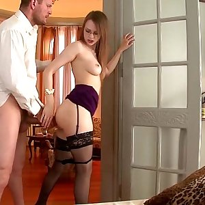 DDFnetwork - Absolute Slovakian goddess devours a Monster cock