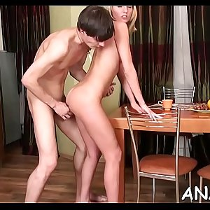 Arousing beautys wild anal needs