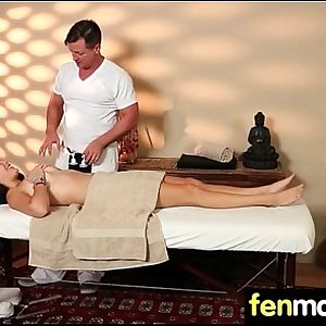 Massage and Gorgeous Passionate sex 26