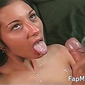 Big ass girl pleases her mans cock