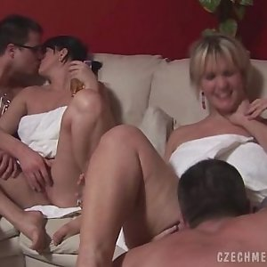 CZECH AMATEURS AT Largest SWINGERS PARTY