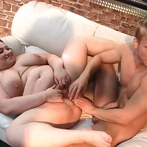 Her fat pussy is fucked and fisted