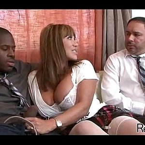 Interracial cuckold with mom 442