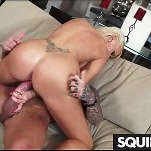 Teen Latina Squirts while getting fucked 22
