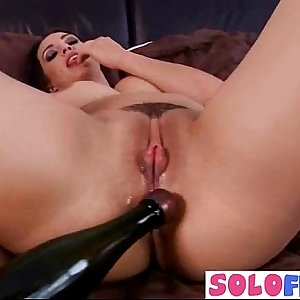 Girl Play With All Kind Of Crazy Things Till Climax clip-19
