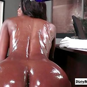Oily Office with Diamond Jackson from Dirty Masseur-part02