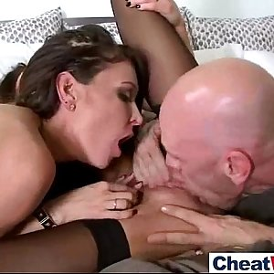 Superb Horny Housewife (jaclyn jessica)  Enjoy Hard Cheating Hookup clip-12