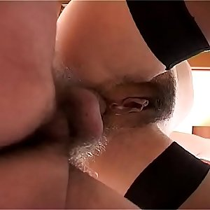 Cousin greedy fucked and cumshot in the face by the cousin