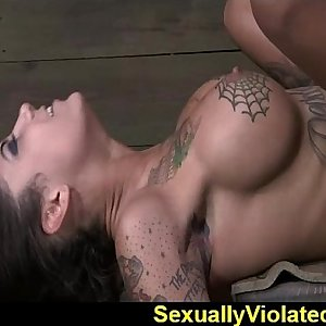 Bonnie drooling gagging and jizzing 1