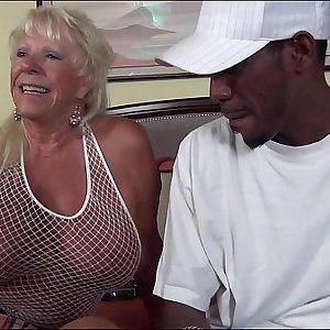 72 year old Grandma Craves Big Black Dick