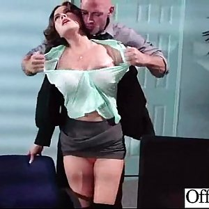 Sex In Office With Big Melon Boobs Worker Girl (krissy lynn) movie-22