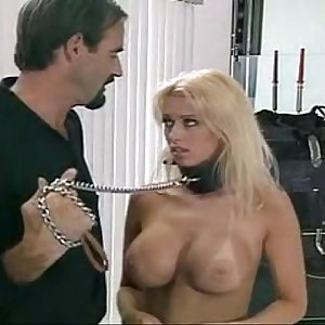 beautiful blonde fucking bondage