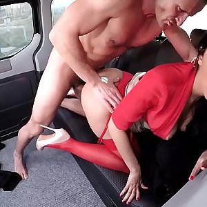 VIP Hookup VAULT - Russian Brunette Babe Kira Queen Gets Banged In The Car