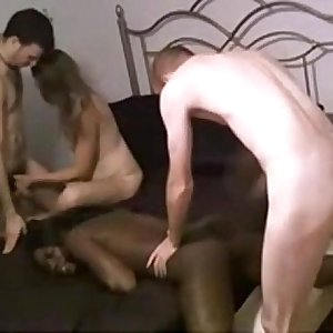 Foursome interracial hookup