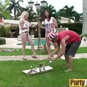 Group Hookup At Party With Real Hot Sluty Girls (autumn & chanel) video-11