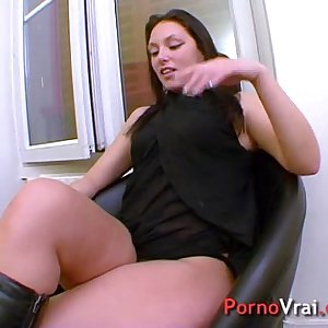 My fantasy is to get fucked by a stranger! French amateur