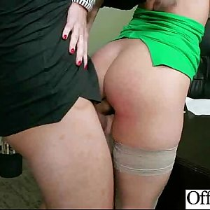 Sexy Big Hooters Chick (jayden jaymes) Like Sex In Office video-24